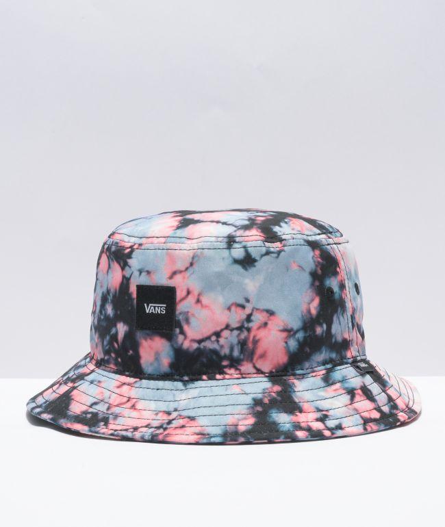 Vans Undertone Pink & Blue Wash Dye Bucket Hat