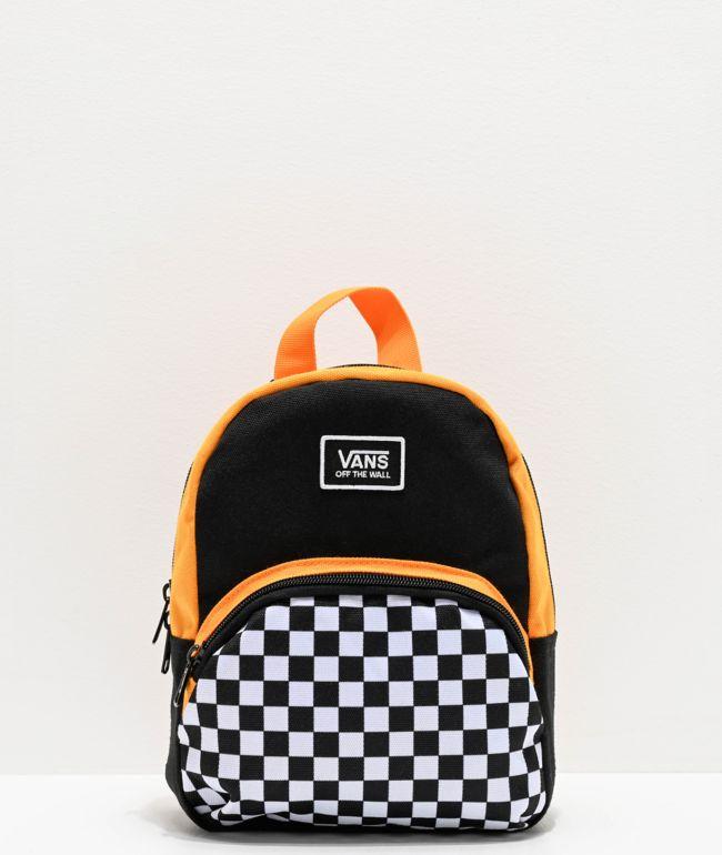 Vans Webbed Mini Checkerboard Black