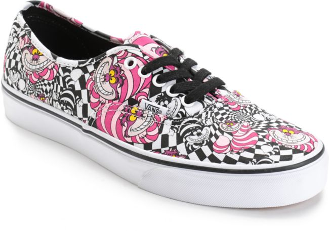 Vans x Alice In Wonderland Authentic Cheshire Cat zapatos de skate ...