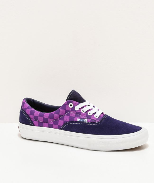 Vans x Baker Era Pro Kader Purple Check