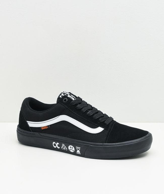 Vans x Cult Old Skool Pro BMX Black & White Shoes