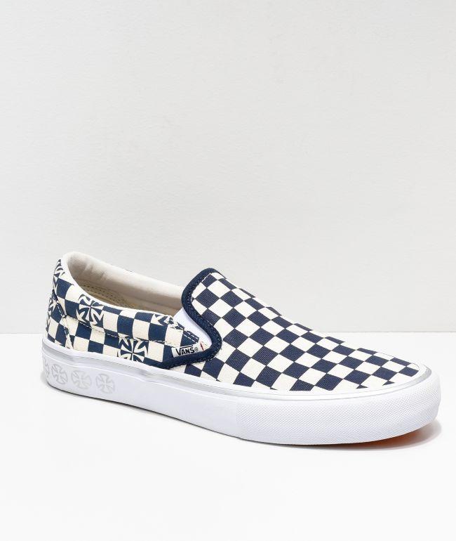 Vans x Independent Slip-On Pro Blue