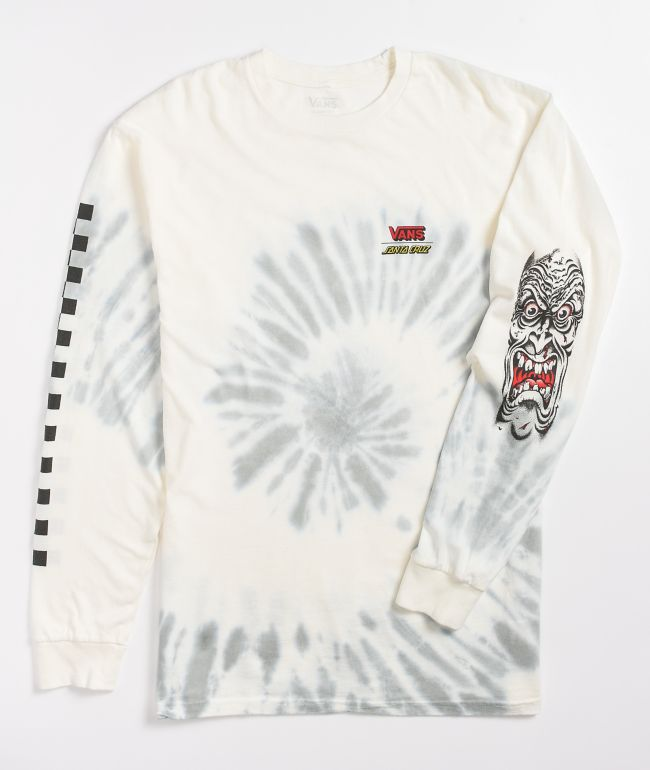 Vans x Santa Cruz Roskopp Tie Dye Long Sleeve T-Shirt