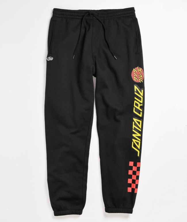 Vans x Santa Cruz Translate Black Sweatpants