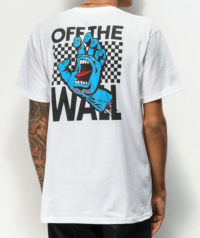 Vans x Santa Cruz Wall Grab White T-Shirt