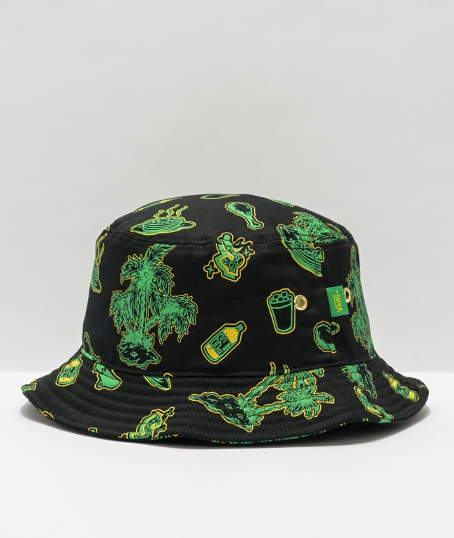 Vans x Shake Junt Green & Black Bucket Hat