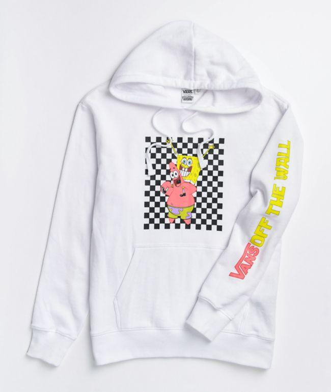 Vans x SpongeBob SquarePants Best Buddies White Hoodie