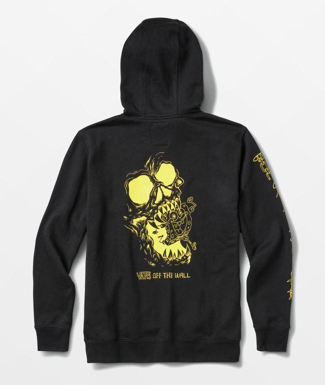 Vans x SpongeBob SquarePants Skull Black Hoodie