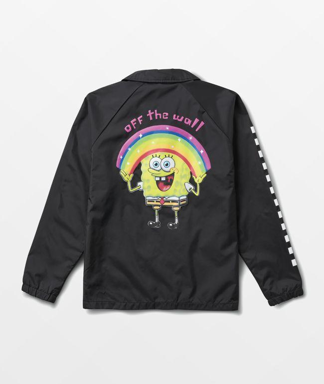 Vans x SpongeBob SquarePants Torrey Black Coaches Jacket