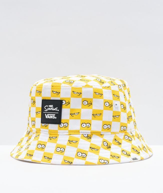 Vans x The Simpsons Check Eyes Bucket Hat