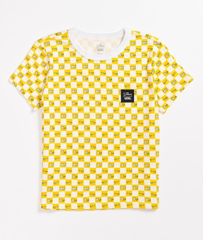 Vans x The Simpsons Checkerboard Eyes T-Shirt