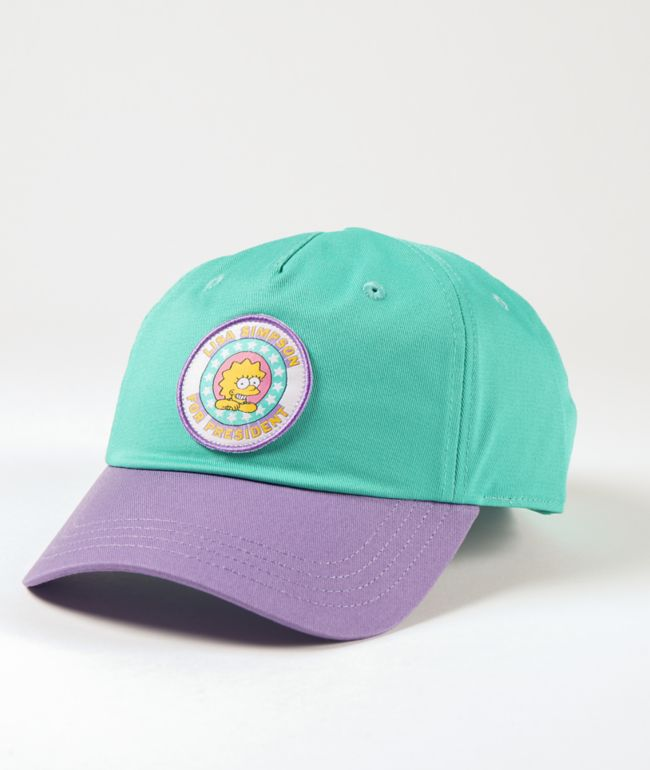 Vans x The Simpsons Lisa 4 Prez Strapback Hat