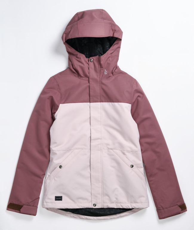 Volcom Bolt Pink Faded 10K Snowboard Jacket