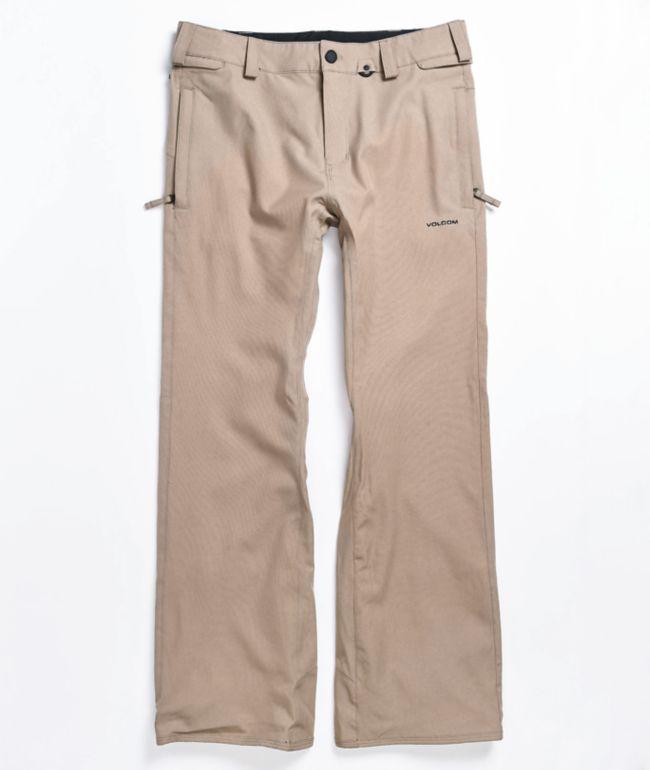 Volcom Freakin Snow Chino Teak 15K Snowboard Pants