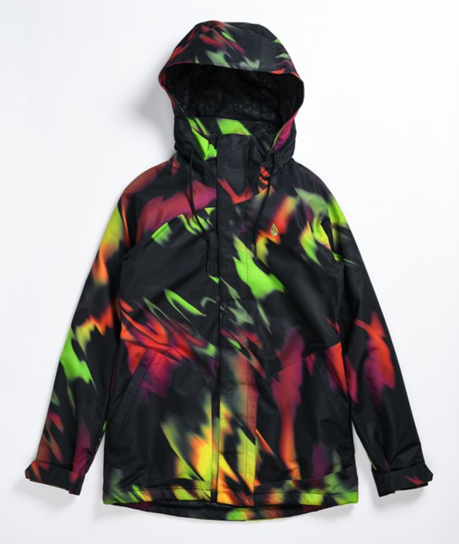 Volcom Westland Acid Yellow 10K Snowboard Jacket