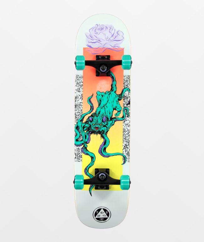 "Welcome Bactocat 8.0"" Skateboard Complete"