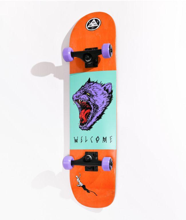 "Welcome Tasmanian Angel 7.75"" Skateboard Complete"