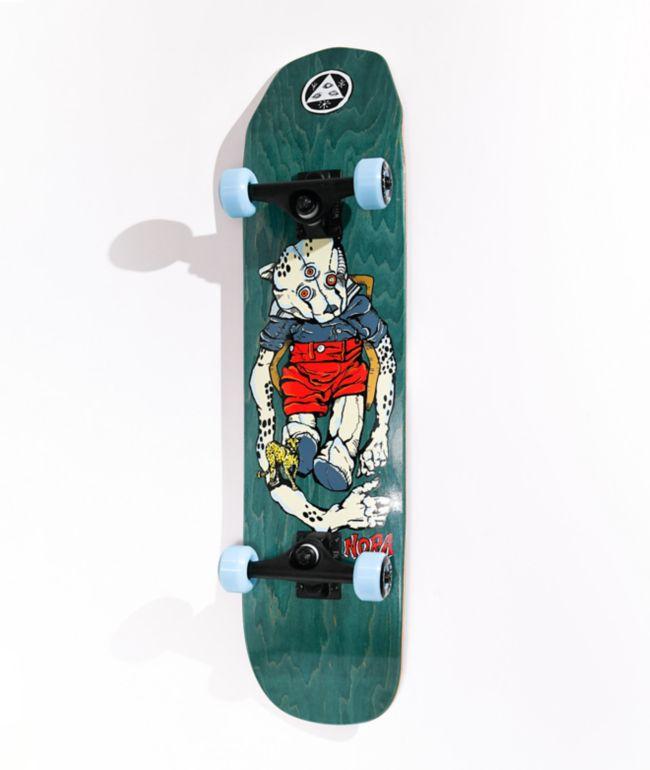 "Welcome Teddy 7.75"" Skateboard Complete"