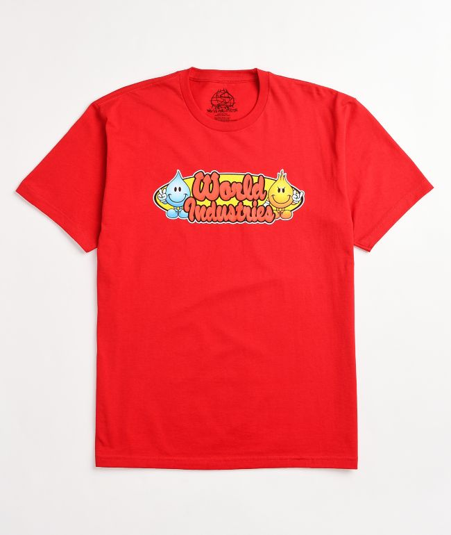 World Industries Character Red T-Shirt