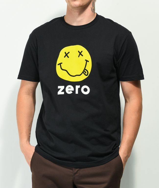 Zero Smile Black T-Shirt