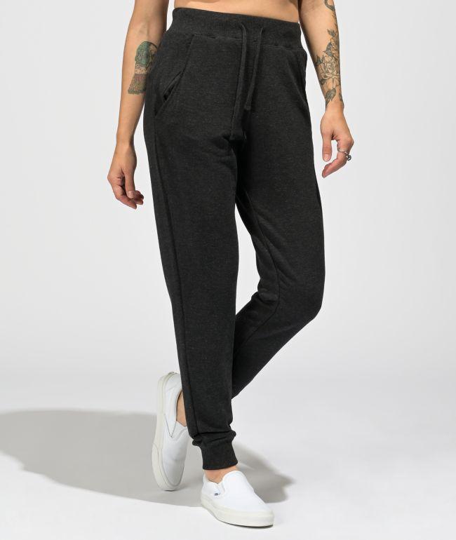 Zine Aisha Slim Black Sweatpants