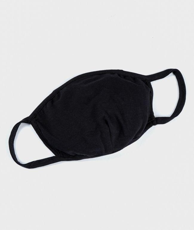 Zine Black Face Mask