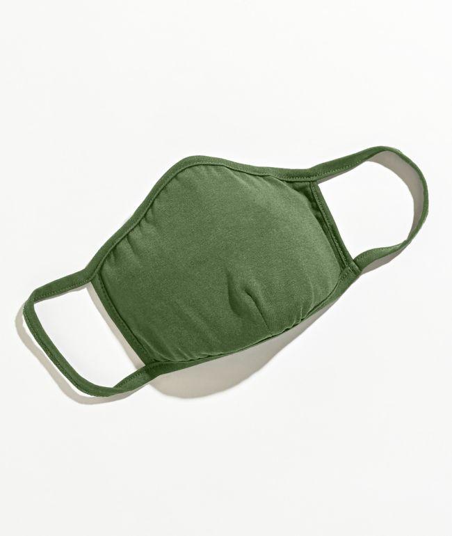 Zine Box Tree Green Face Mask