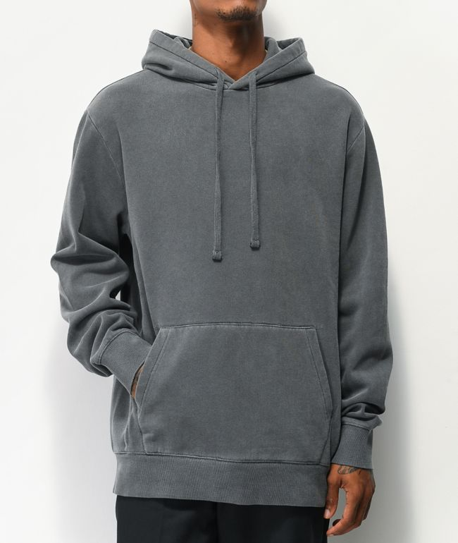 Zine Don Jon Washed Grey Hoodie