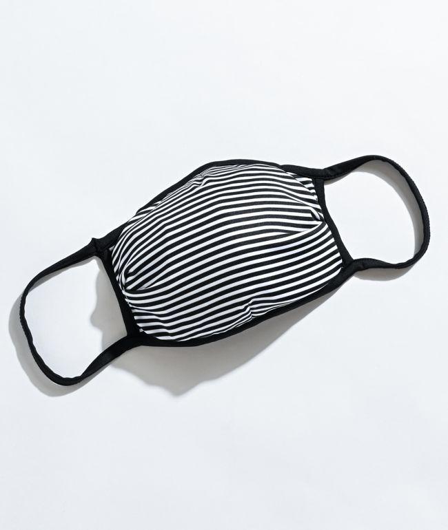 Zine Feeder Black & White Face Cover