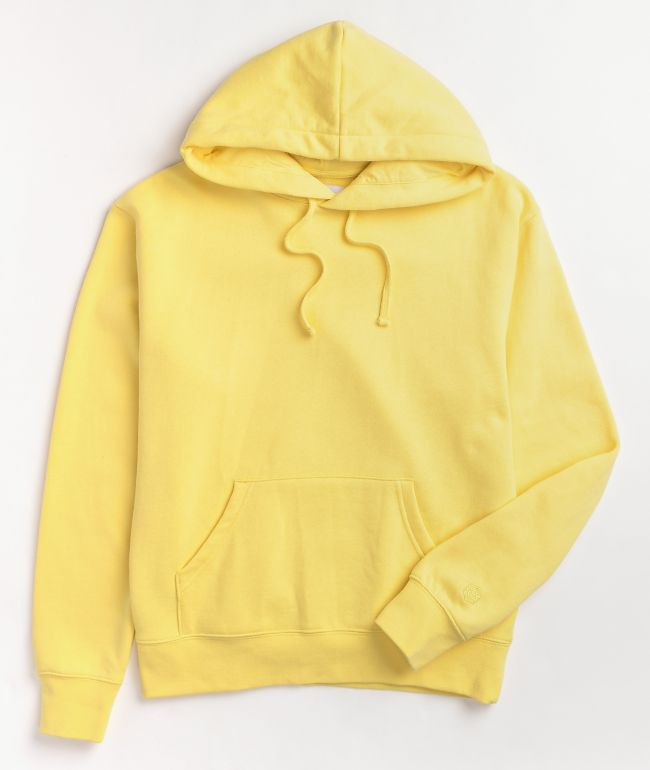 Zine Hunter Yellow Hoodie