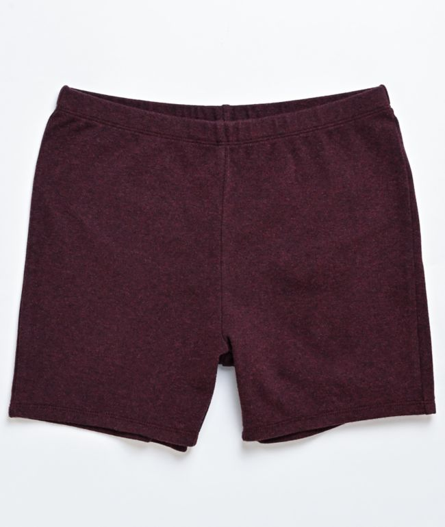 Zine Kora Burgundy Bike Shorts