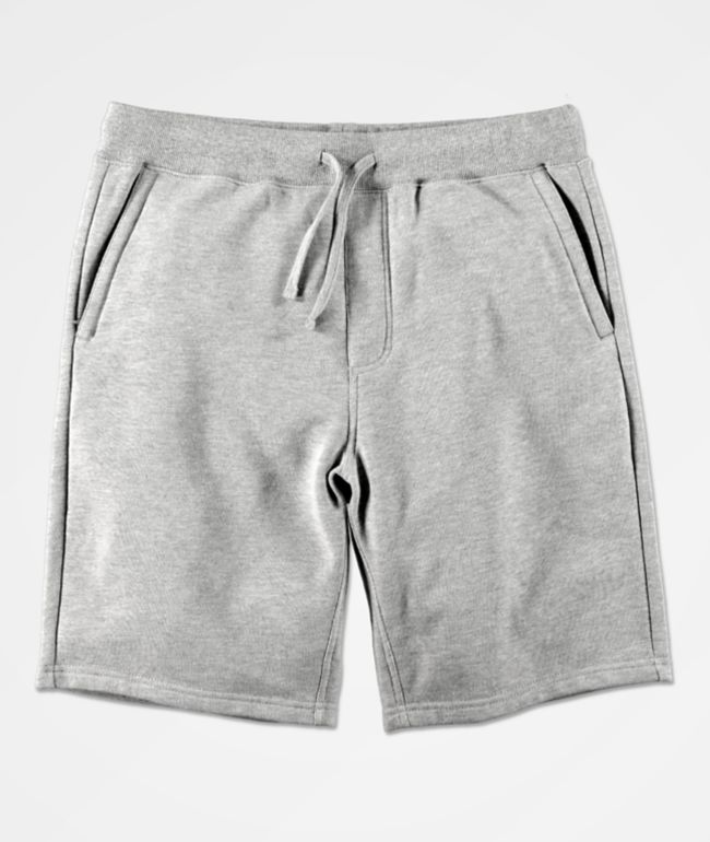 Zine Silas shorts de punto gris