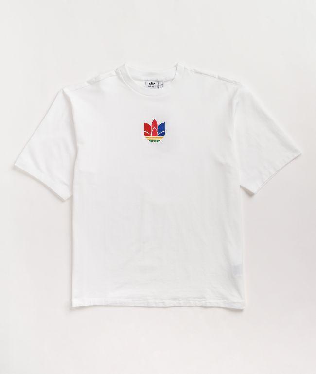 adidas 3D Adicolor White T-Shirt