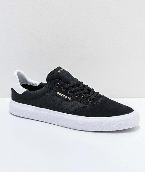adidas 3MC Black, Gold \u0026 White Shoes