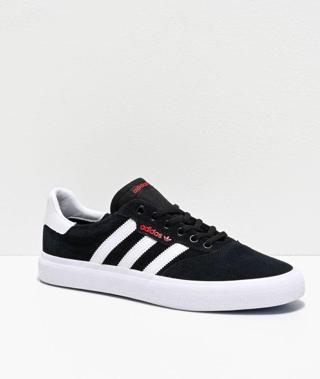 adidas black white shoes