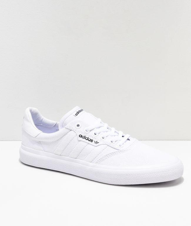 adidas 3MC White Shoes | Zumiez
