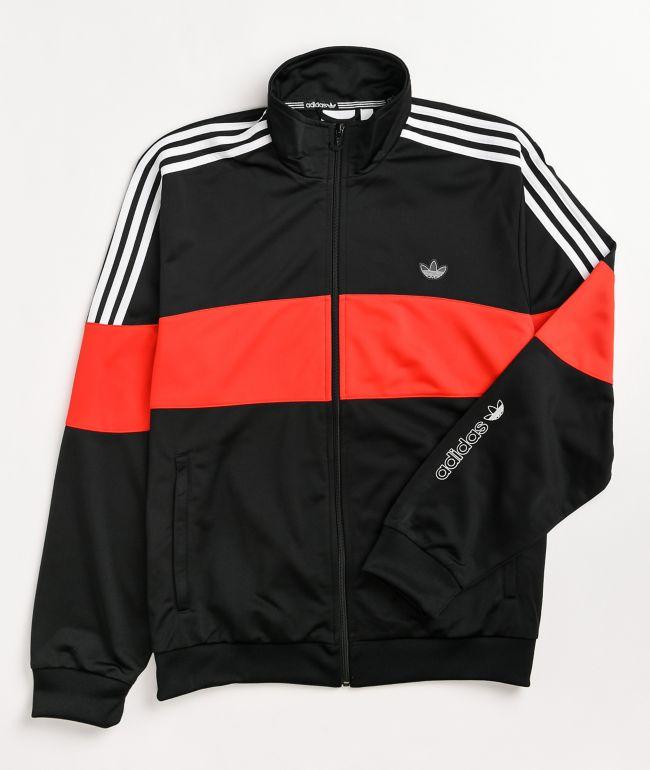 adidas BX-20 Black & Red Track Jacket