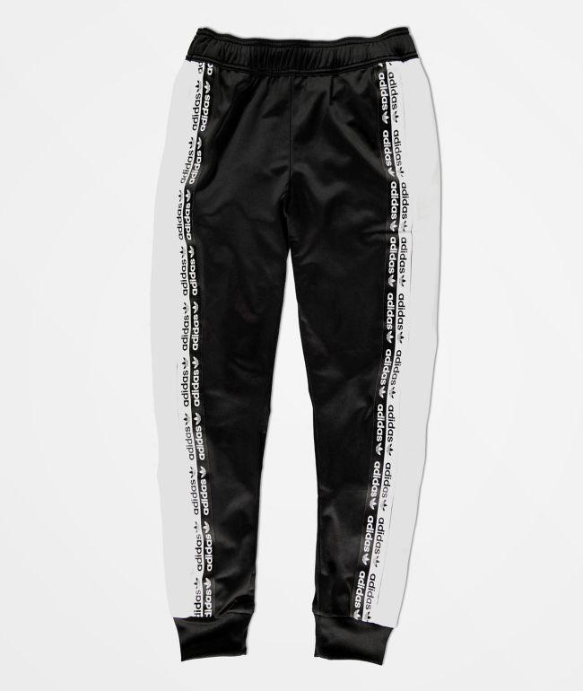 adidas Boys Logo Tape Black \u0026 White
