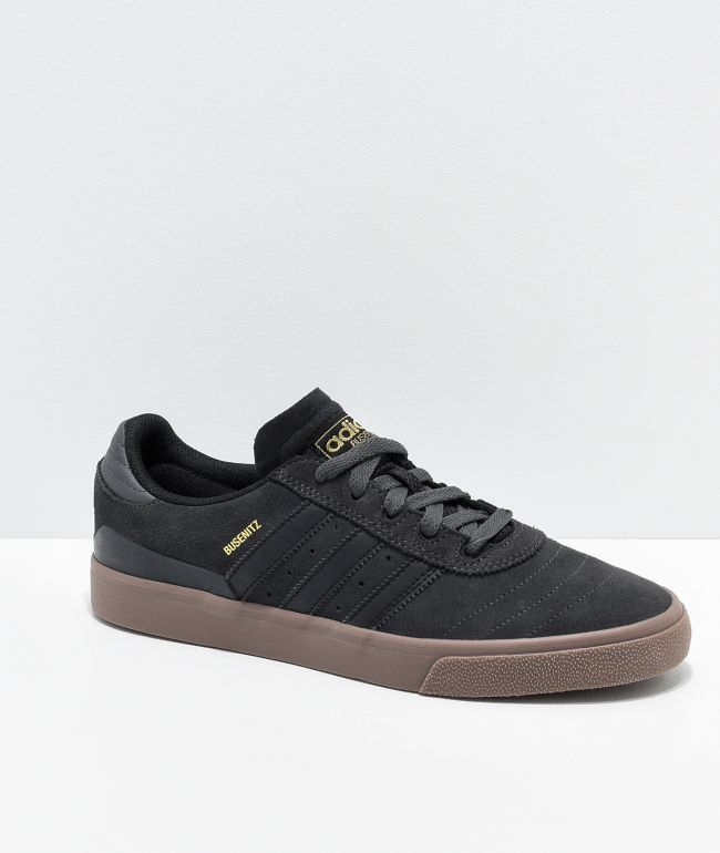 adidas Busenitz Vulc Grey, Black \u0026 Gum