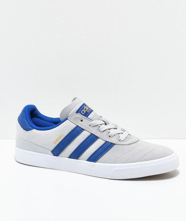 adidas Busenitz Vulc Grey \u0026 Dark Blue