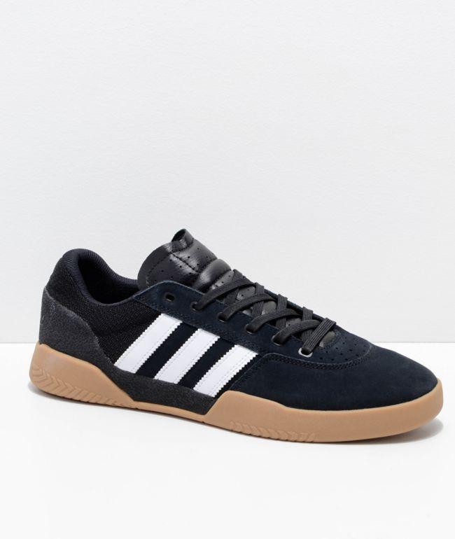 adidas City Cup Black, White \u0026 Gum