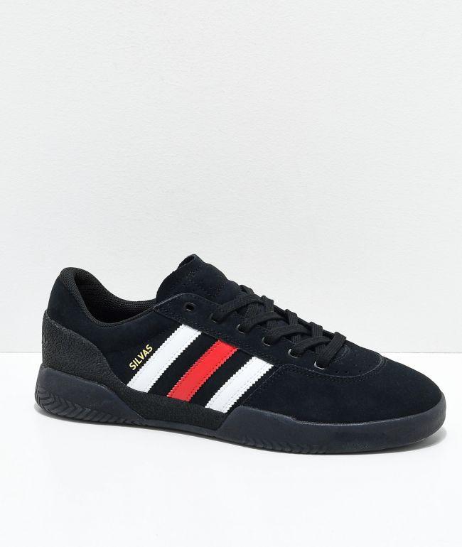 adidas City Cup Silvas Black, White