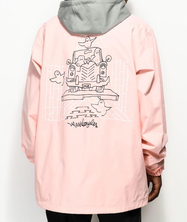 constructor tirar a la basura guía  adidas Civillian Gonz 2.0 Pink 10k Snowboard Jacket   Zumiez