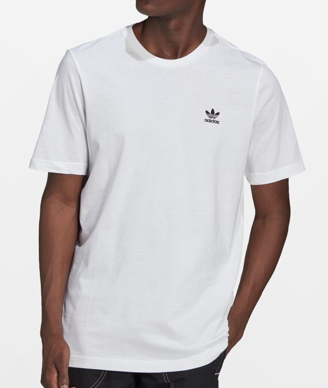 adidas Essential White & Black T-Shirt