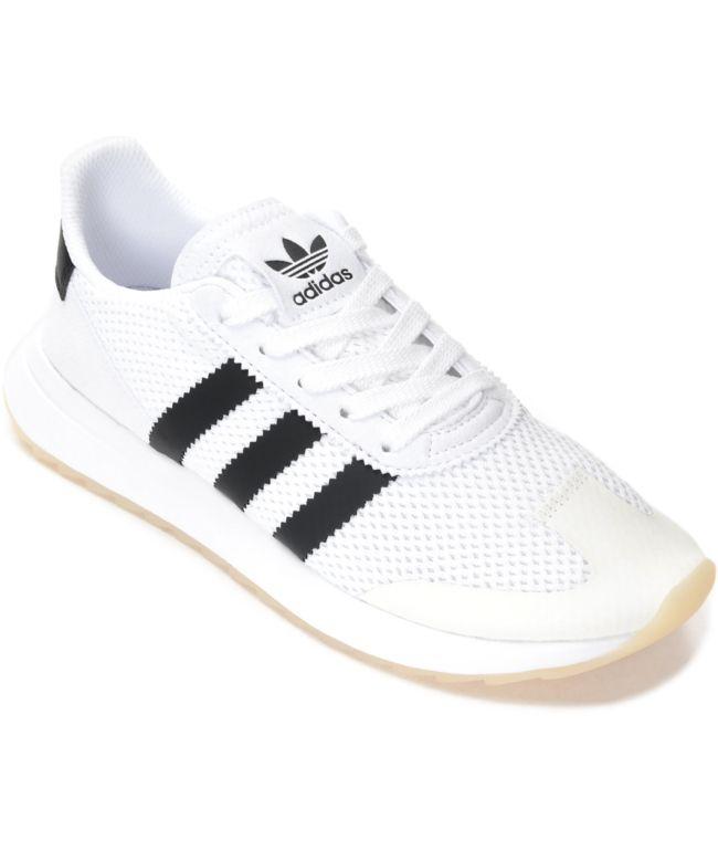 adidas Flashback Black \u0026 White Shoes