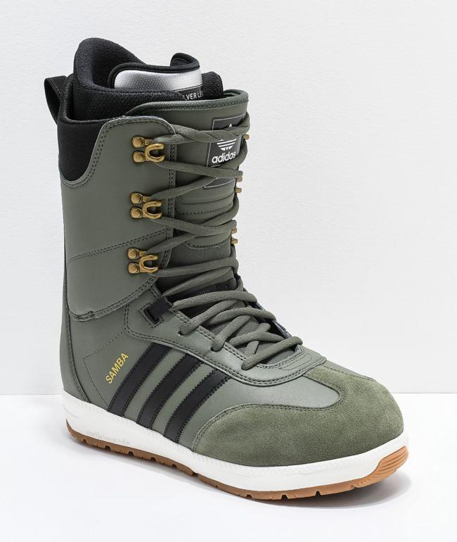 adidas Green Samba ADV Snowboard Boots