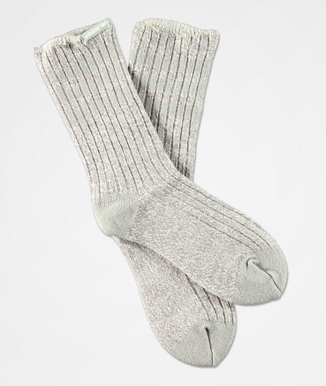 adidas House II Light Onix Grey Crew Socks