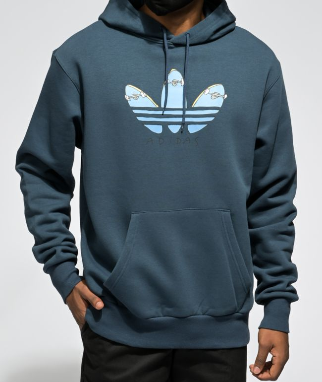 adidas KA Navy Graphic Hoodie