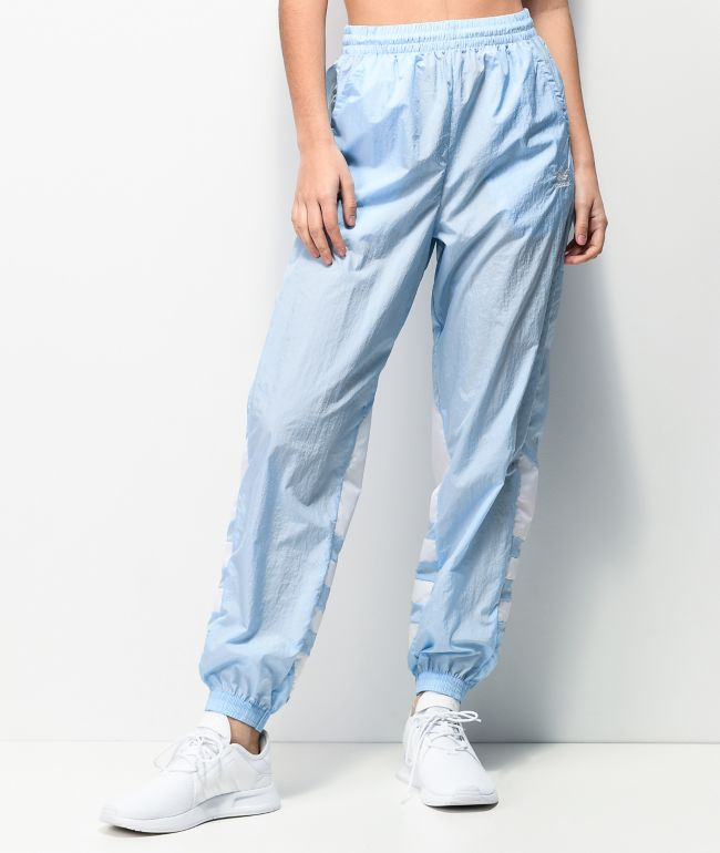 adidas Large Logo Blue Track Pants