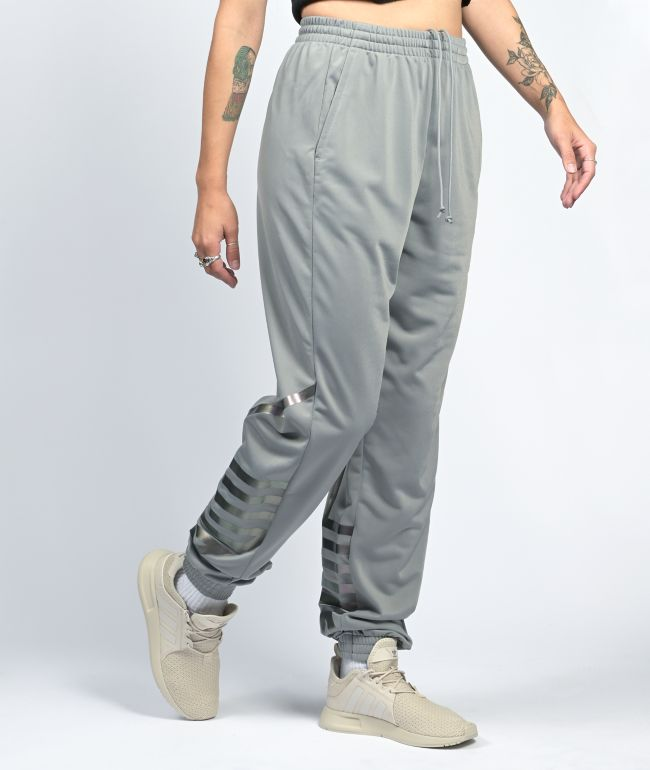 adidas Large Logo Grey Track Pants